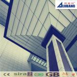 Hojas compuestas de aluminio Nanas-PVDF (ALB-067)