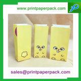 Sac de bonbon à sucrerie de sac de cadeau de sac d'amusement de sacs en papier de Papier d'emballage de poissons estampé par coutume/chat