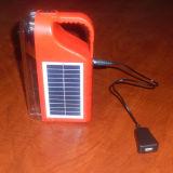 トーチが付いている携帯用太陽再充電可能なLEDのキャンプのランタン