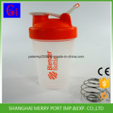 Бутылка бутылки трасучки воды уникально тела формы ломкого пластичная (400ML)