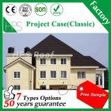 高品質の建築材料の石の上塗を施してある屋根瓦の屋根ふきシート