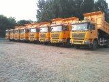 40cbm U 유형 쓰레기꾼 트럭 팁 주는 사람 덤프 트럭 대형 트럭