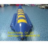 Barca gonfiabile gonfiabile del pedale della barca di banana dell'acqua