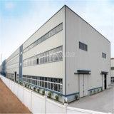 Construction préfabriquée de structure métallique de coût bas avec le prix bon marché