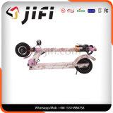 ピンクの電気手段のバランスのボードのスクーター(クッションを追加しなさい)