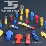 Directamente populares Fabricación de latón PVC terminales aislados Femenino