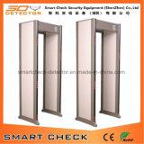 Проходной металлодетектор со светодиодными сигнальными огнями, металлодетекторы дверной рамы