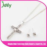 Ожерелье изготовленный на заказ цветка ожерелья чувствительное серебряное для женщин