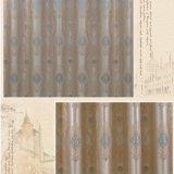 Rideau en guichet classique d'arrêt total de jacquard de Rilievo de polyester (33F0121)