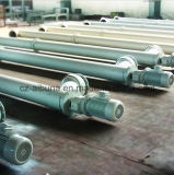 De hete Transportband van de Schroef van het Roestvrij staal van de Verkoop voor Zand/Poeder