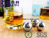 25mm 55mm ont personnalisé les roches respectueuses de l'environnement de glace de whiskey de glaçons de whiskey de pierres de whiskey d'acier inoxydable