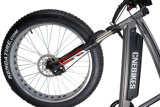 Bicicleta de neve elétrica Fat Tire com 48V 750W MID Drive Motor