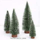 Mini pequeño árbol de la decoración de la Navidad del PVC