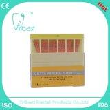 Puntas absorbentes dentales de la gutapercha de las puntas del papel