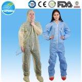 Combinações protetoras químicas protetoras descartáveis da roupa SMS