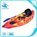 Barco de pesca del placer de la pesca mini/canoa/kajak plásticos