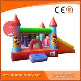 子供T3213のためのスライドとコンボ1の鳥の主題の膨脹可能なおもちゃの弾力がある跳躍の城3
