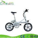 Liga de alumínio de 16 rodas da polegada dois que dobra a bicicleta portátil