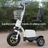 motorino Handicapped del motorino di mobilità E delle rotelle 500W tre con Ce