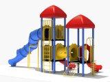 114mm гальванизированное оборудование спортивной площадки цветастых детей столба напольное