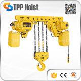 Grua Chain elétrica do guindaste do elevador da tração do motor de Hsy 1t/2t/3t/5t/10t