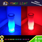 LED Light Up Décoration de jardin ronde LED Flower Vase