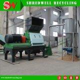 Planta de reciclaje de madera de la basura automática de la alta capacidad del control del PLC de Siemens