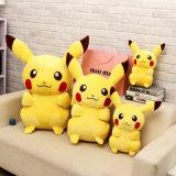 Stuk speelgoed van Pikachu van de Pluche van het Beeldverhaal van de Gift van Kerstmis van Kerstmis het In het groot Karakter Gevulde