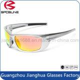 Os óculos de proteção novos do esporte da segurança da lente do espelho da forma polarizaram óculos de sol desportivos protetores UV da qualidade superior de Eyewear