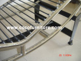 8034-B Le Corbusier Wagen-Aufenthaltsraum-Stuhl