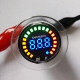 12V 색깔 LED DC 디지털 표시 장치 방수 Volt+Battery 미터