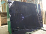 Vidro da piscina azul escuro estável de 6mm-10mm (C-dB)