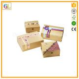 Подгонянная бумажная коробка подарка для упаковки рождества