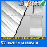 Perfil de aluminio de aluminio popular de la protuberancia de la cabina de cocina del obturador del rodillo