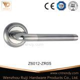 Ручка рукоятки двери цинка европейского типа алюминиевая на Rose (Z6012-ZR05)