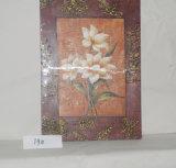 Peinture s'arrêtante de lotus de configuration de toile exquise de maison