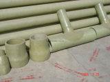 Instalaciones de tuberías de la fibra de vidrio - codo de FRP para la conexión