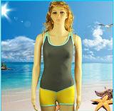 주문을 받아서 만들어진 여자의 섹시한 비키니 바닷가 수영복 스포츠 수영복