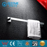Accesorios de baño de níquel cepillo de toallas