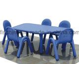 물자 Virgin PP와 가진 유럽인에게 테이블 의자 수출이 플라스틱에 의하여 농담을 한다