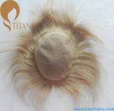 人のための絹の基礎レースの人間の毛髪の置換