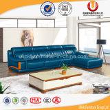Sofà moderno dell'angolo del Recliner del cuoio della mobilia del salone (UL-R812)