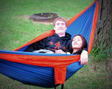 2015 Hot Selling Two Person Portable Parachute Nylon Fabric Hammock