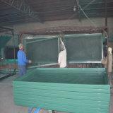 Cercado de acero pintado del acoplamiento de alambre del color verde