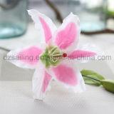 결혼식 또는 홈 또는 정원 훈장 (SY-302)를 위한 유일한 단 하나 백합 꽃