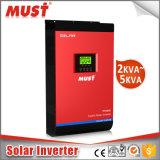 LCD de ZonneOmschakelaar van de Hoge Frequentie MPPT 230VAC 50Hz