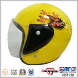 싼 순수한 까만 스쿠터 헬멧 (OP213)