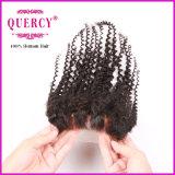 Chiusura riccia crespa del merletto di prezzi all'ingrosso della fabbrica dei capelli di Quercy