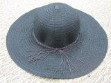 Sombrero tropical del sombrero de ala de la paja de las señoras de la manera para el verano