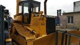 Modanatura-Functional Dam-Engineering/Construction 13ton/3~5cbm Caterpillar D5h Used Crawler Bulldozer di Available-Blade/Ripper Cat3304-Diesel-Engine